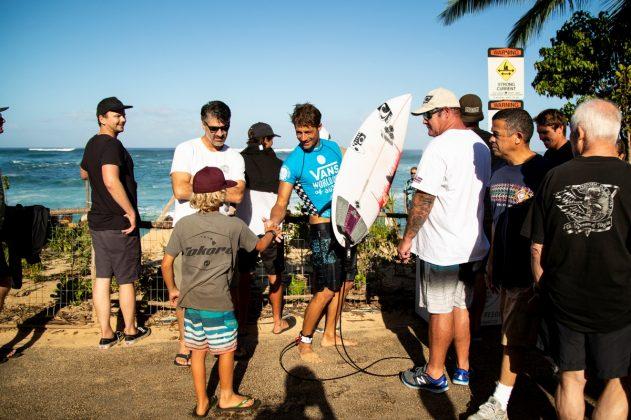 Soli Bailey, Vans World Cup 2018, Sunset, North Shore de Oahu, Havaí. Foto: WSL / Heff.