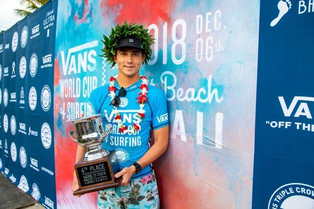 Griffin Colapinto, Vans World Cup 2018, Sunset, North Shore de Oahu, Havaí. Foto: WSL / Keoki.