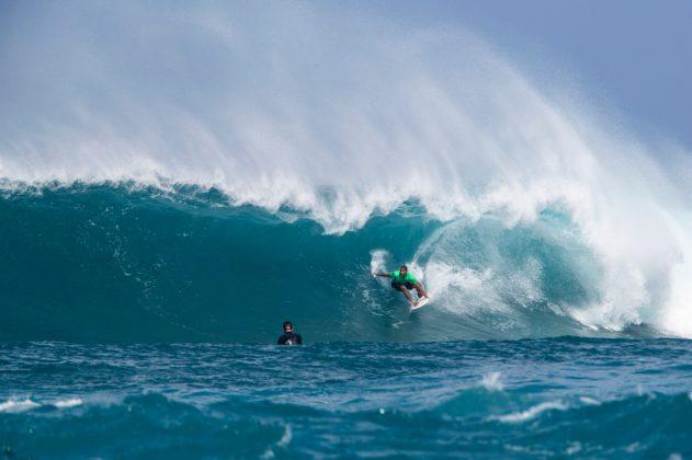 Weslley Dantas, Vans World Cup 2018, Sunset, North Shore de Oahu, Havaí. Foto: WSL / Heff.