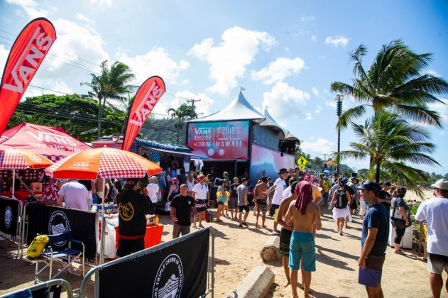 Vans World Cup 2018, Sunset, North Shore de Oahu, Havaí. Foto: WSL / Keoki.
