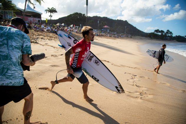 Italo Ferreira, Vans World Cup 2018, Sunset, North Shore de Oahu, Havaí. Foto: WSL / Heff.