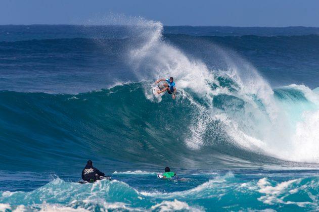 Jack Freestone, Vans World Cup 2018, Sunset, North Shore de Oahu, Havaí. Foto: WSL / Keoki.