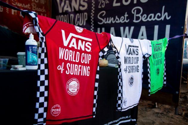 Vans World Cup 2018, Sunset, North Shore de Oahu, Havaí. Foto: WSL / Heff.