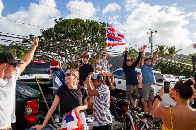 Ezekiel Lau, Vans World Cup 2018, Sunset, North Shore de Oahu, Havaí. Foto: WSL / Keoki.