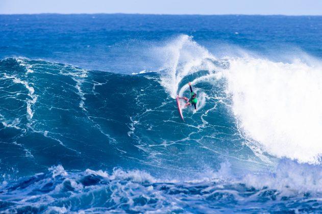 Matthew McGillivray, Vans World Cup 2018, Sunset, North Shore de Oahu, Havaí. Foto: WSL / Keoki.