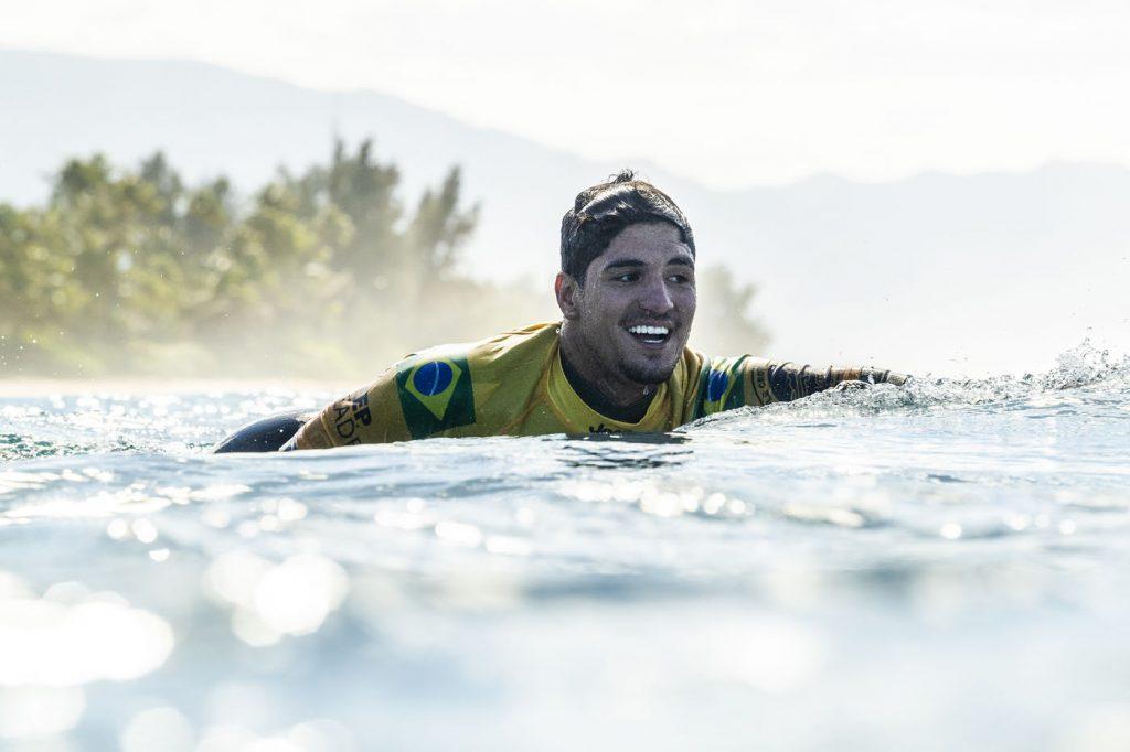 Gabriel Medina é o surfista brasileiro mais bem pago do mundo.