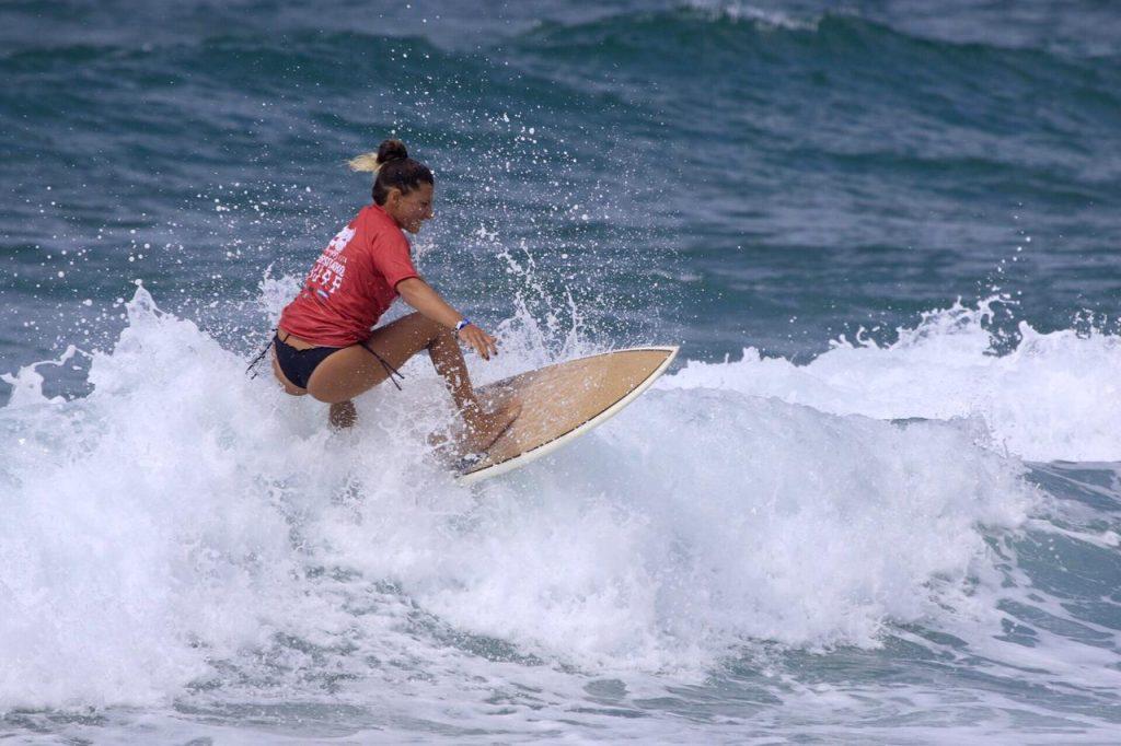 Stephanie Frumento leva a melhor entre as mulheres no Brasileiro.