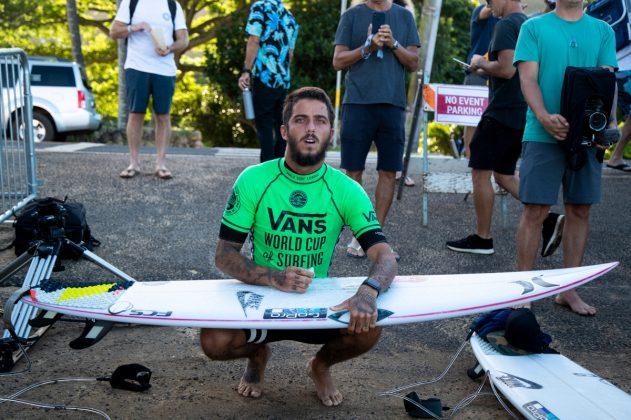 Filipe Toledo, Vans World Cup 2018, Sunset, North Shore de Oahu, Havaí. Foto: WSL / Heff.