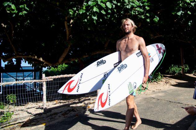 Owen Wright, Vans World Cup 2018, Sunset, North Shore de Oahu, Havaí. Foto: WSL / Heff.
