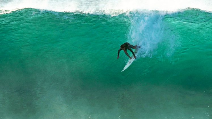 Taichi Wakita, Backdoor, North Shore de Oahu, Havaí. Foto: Bruno Lemos / Sony Brasil.