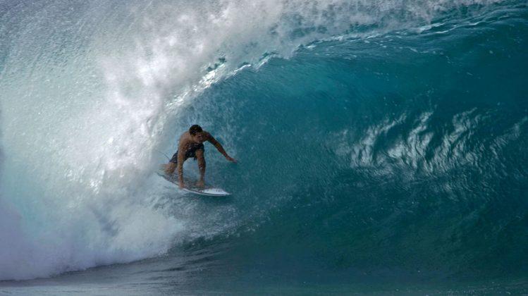 Barron Mamiya, Pipeline, North Shore de Oahu, Havaí. Foto: Bruno Lemos / Sony Brasil.