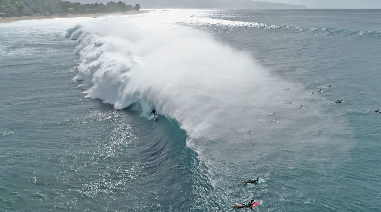 Danny Fuller, Pipeline, North Shore de Oahu, Havaí. Foto: Bruno Lemos / Sony Brasil.