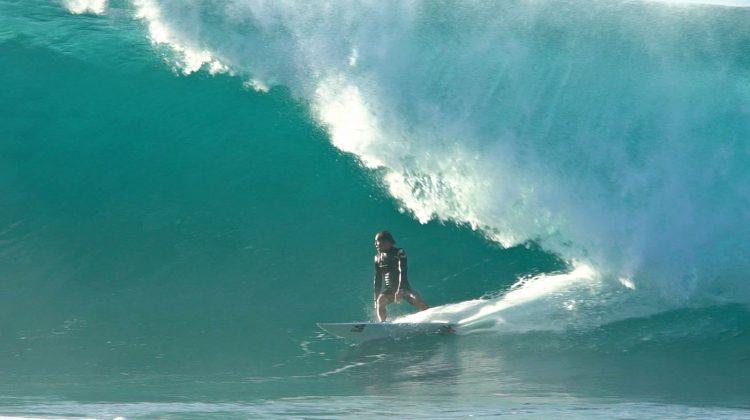 Derek Ho, Backdoor, North Shore de Oahu, Havaí. Foto: Bruno Lemos / Sony Brasil.