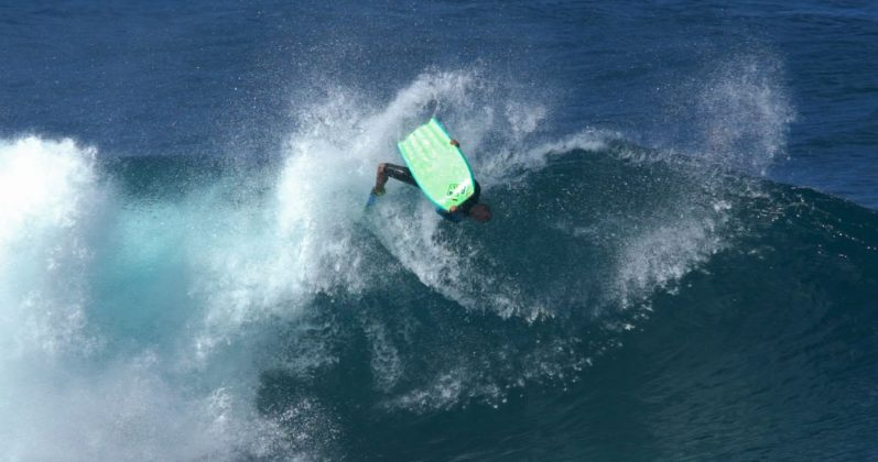 Jeff Hubbard, Pipeline, North Shore de Oahu, Havaí. Foto: Bruno Lemos / Sony Brasil.