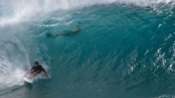 Jerônimo Vargas, Pipeline, North Shore de Oahu, Havaí. Foto: Bruno Lemos / Sony Brasil.