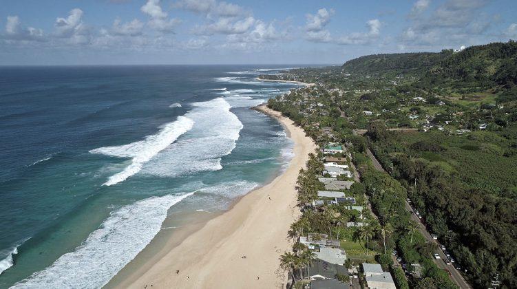 North Shore de Oahu, Havaí. Foto: Bruno Lemos / Sony Brasil.