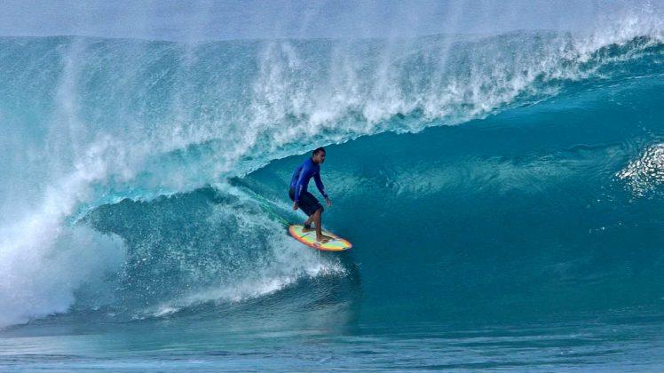 Wiggolly Dantas, Pipeline, North Shore de Oahu, Havaí. Foto: Bruno Lemos / Sony Brasil.