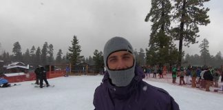 Snow na Califa
