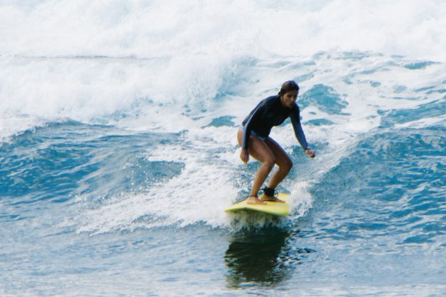Claudia Laudissi, Praia da Baleia, São Sebastião (SP). Foto: Arquivo pessoal.