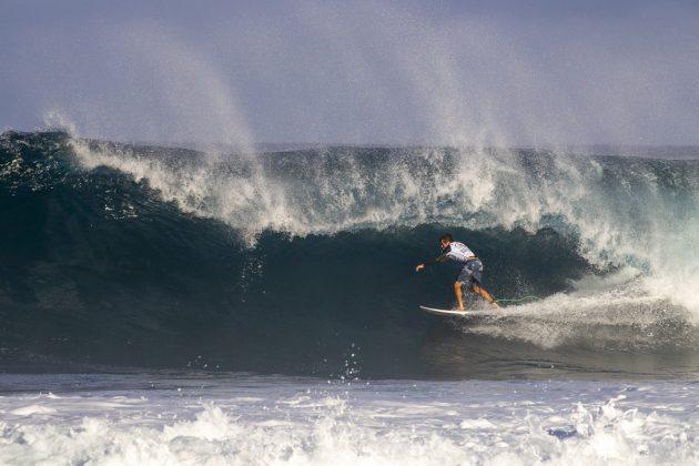 Kalani David, Volcom Pipe Pro 2019, North Shore de Oahu, Havaí. Foto: WSL / Keoki.