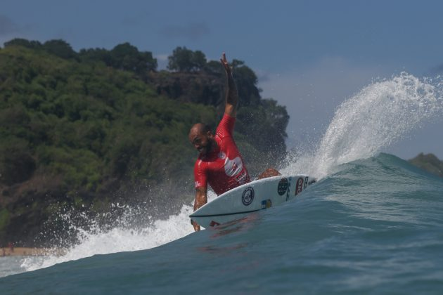 Jadson André, Oi Hang Loose Pro Contest 2019, Cacimba do Padre, Fernando de Noronha (PE). Foto: @WSL / Daniel Smorigo.