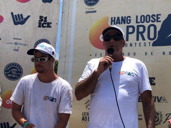 Thor e Alfio Lagnado, Oi Hang Loose Pro Contest 2019, Cacimba do Padre, Fernando de Noronha (PE). Foto: Fábio Maradei.