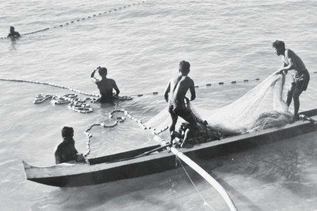 Pescadores no Havaí. Foto: Reprodução.