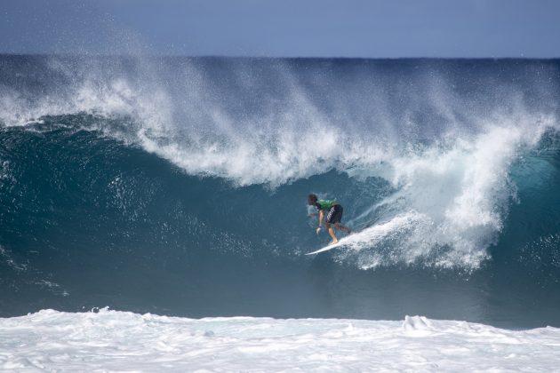 Cody Young, Volcom Pipe Pro 2019, North Shore de Oahu, Havaí. Foto: WSL / Heff.