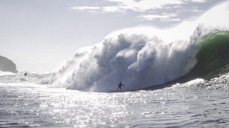 Conor Maguire, Praia do Norte, Nazaré, Portugal. Foto: Renan Vignoli.