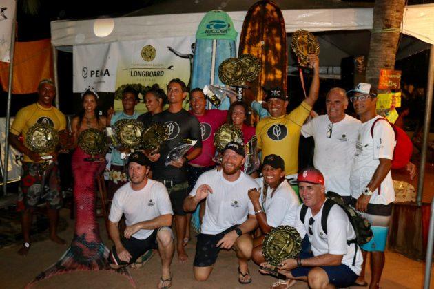 Campeões, Jericoacoara Cultura Longboard Festival 2019, Ceará. Foto: Lima Jr..