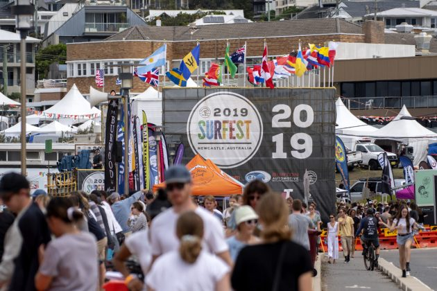 Newcastle Surfest 2019, Merewether Beach, Austrália. Foto: WSL / Tom Bennett.