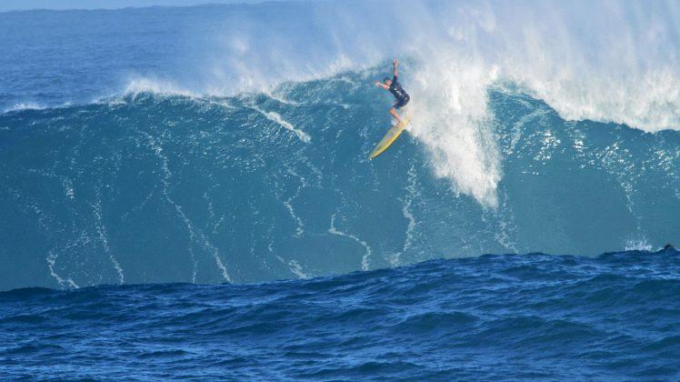 Edison de Paula, Waimea Bay, North Shore de Oahu, Havaí. Foto: Bruno Lemos / Sony Brasil.