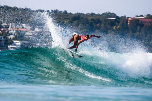Vahina Fierro, Vissla Sydney Surf Pro 2019, Manly Beach, Austrália. Foto: WSL / Dunbar.