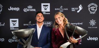 WSL Awards 2019, Gold Coast, Austrália