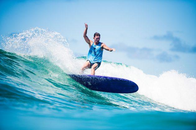 Clinton Guest, Noosa Longboard Open 2019, Austrália. Foto: WSL / Jack Barripp.