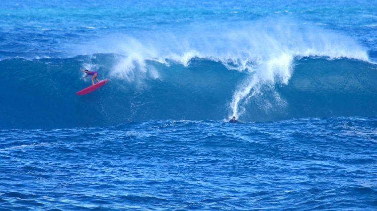 Jamilah Starr, Waimea Bay, North Shore de Oahu, Havaí. Foto: Bruno Lemos / Sony Brasil.