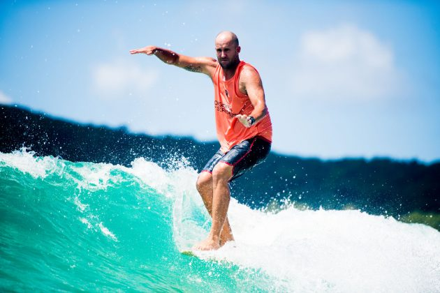 Taylor Jensen, Noosa Longboard Open 2019, Austrália. Foto: WSL / Jack Barripp.