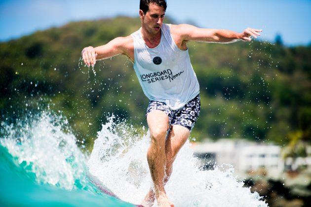 Nic Jones, Noosa Longboard Open 2019, Austrália. Foto: WSL / Jack Barripp.