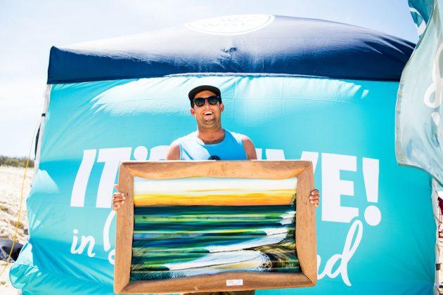 Justin Quintal, Noosa Longboard Open 2019, Austrália. Foto: WSL / Jack Barripp.