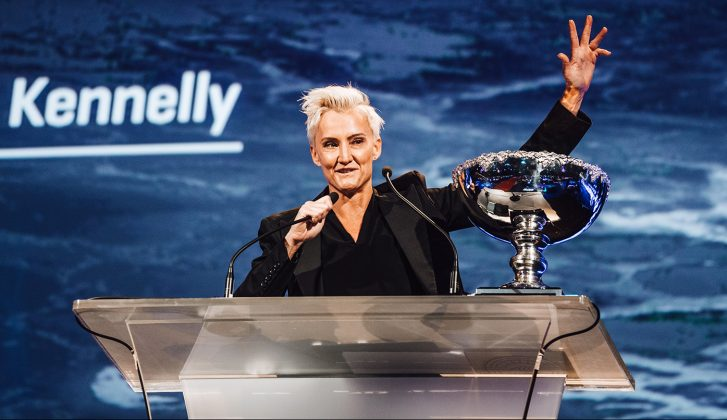 Keala Kennelly, WSL Awards 2019, Gold Coast, Austrália. Foto: WSL / Cestari.
