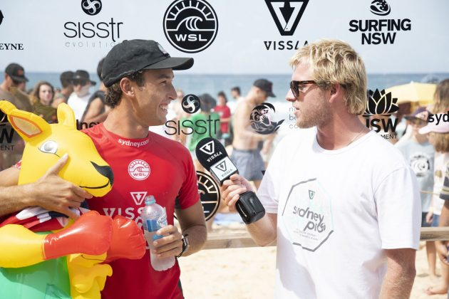 Jordan Lawler, Vissla Sydney Surf Pro 2019, Manly Beach, Austrália. Foto: WSL / Smith.