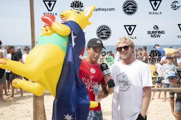 Jordan, Vissla Sydney Surf Pro 2019, Manly Beach, Austrália. Foto: WSL / Smith.
