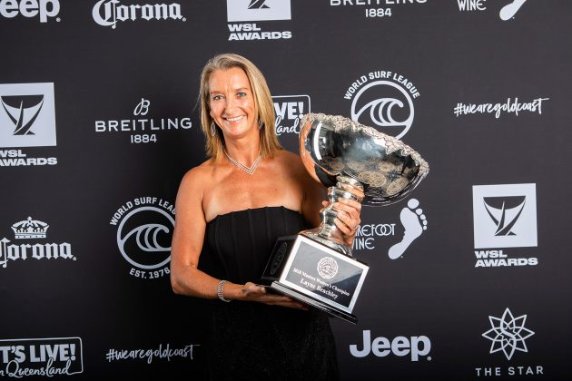 Layne Beachley, WSL Awards 2019, Gold Coast, Austrália. Foto: WSL / Cestari.