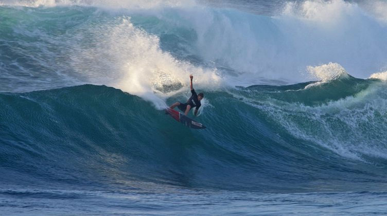 Nathan Florence, Sunset Beach, North Shore de Oahu, Havaí. Foto: Bruno Lemos / Sony Brasil.