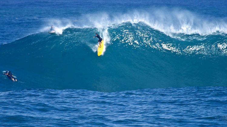 Nicole Pacelli, Waimea Bay, North Shore de Oahu, Havaí. Foto: Bruno Lemos / Sony Brasil.