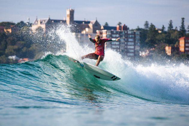 Isabella Nichols, Vissla Sydney Surf Pro 2019, Manly Beach, Austrália. Foto: WSL / Dunbar.