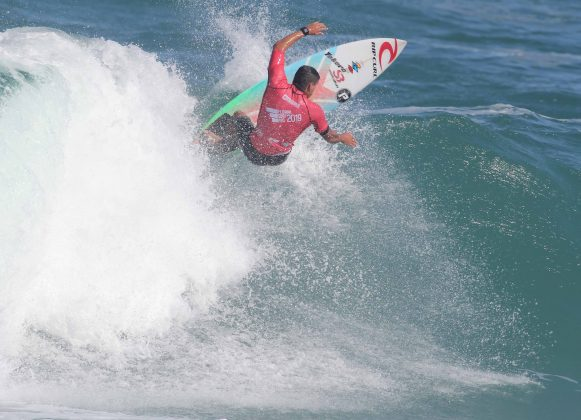 Paulo Moura, Floripa Surf Pro 2019, Joaquina, Florianópolis (SC). Foto: Basilio Ruy/P.P07.