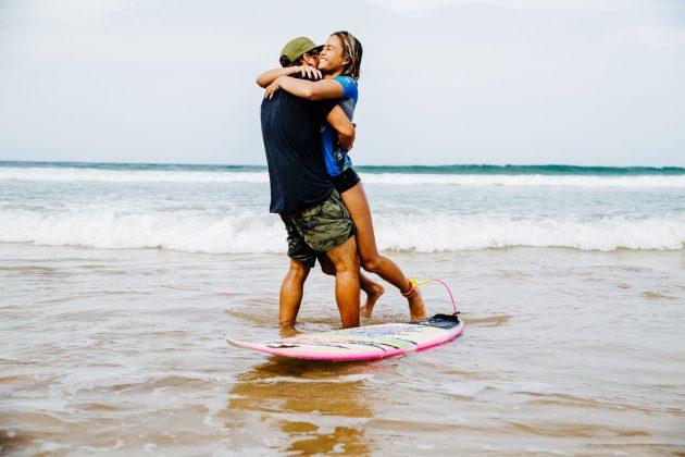 Caio Ibelli e Alessa Quizon, Vissla Sydney Surf Pro 2019, Manly Beach, Austrália. Foto: WSL / Dunbar.