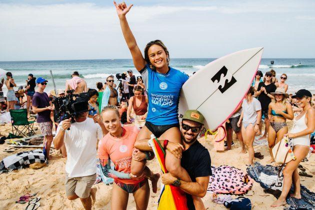 Alessa Quizon, Vissla Sydney Surf Pro 2019, Manly Beach, Austrália. Foto: WSL / Dunbar.