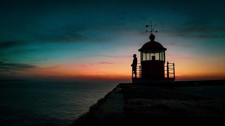 Renan Vignoli, Praia do Norte, Nazaré, Portugal. Foto: Arquivo pessoal.